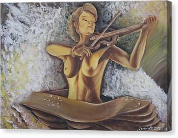 Serenata Canvas Print by Gani Banacia