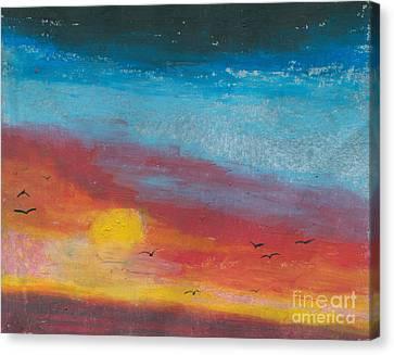 Serene Canvas Print by R Kyllo