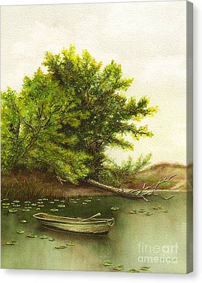 Serene Solitude Canvas Print by Nan Wright