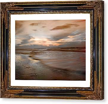 Serene Sunrise Canvas Print by Betsy C Knapp