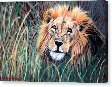 Serengeti Ruler Canvas Print
