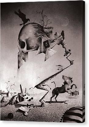 Serengeti Canvas Print by Steve Olshove