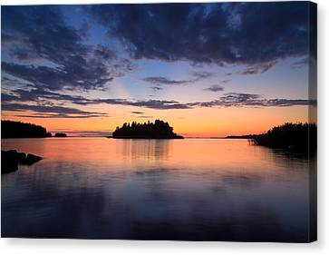 Serenity After The Sunset Canvas Print