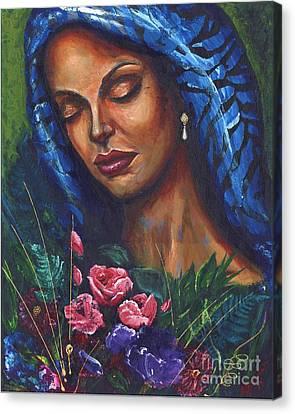 Serenity Canvas Print by Alga Washington