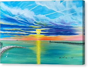 Serenity Bay Canvas Print