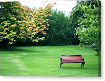 Canvas Print featuring the photograph Serenity by Charlie and Norma Brock