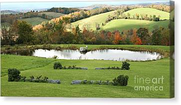 Canvas Print featuring the photograph Serenity Hill by Carol Lynn Coronios