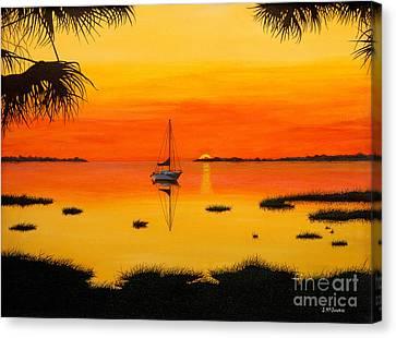 Serenity I Canvas Print