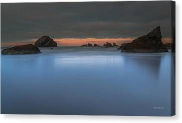 Serenity In Blue.... Bandon Canvas Print by Tim Bryan