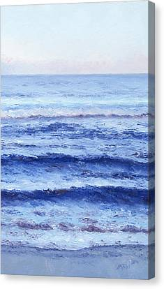 Seashore Canvas Print - Serenity by Jan Matson