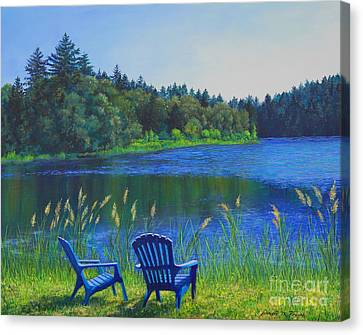 Serenity Canvas Print by Jeanette French
