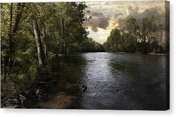 Canvas Print featuring the photograph Serenity by Lynn Geoffroy