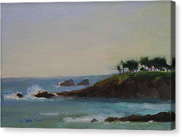 Beach Scenes Canvas Print - Serenity by Maria Hunt