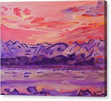 Serenity Canvas Print by Meryl Goudey