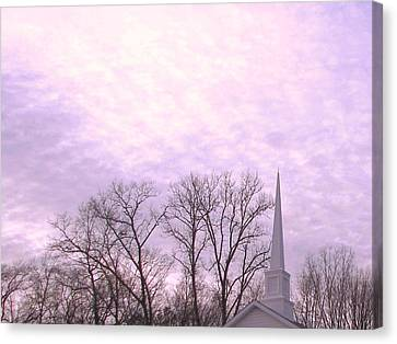 Canvas Print featuring the photograph Serenity by Pamela Hyde Wilson