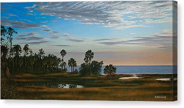Serenity Canvas Print by Rick McKinney