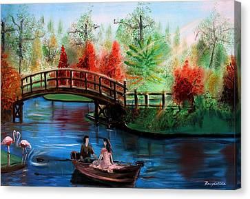 Serenity Canvas Print by Rom Galicia
