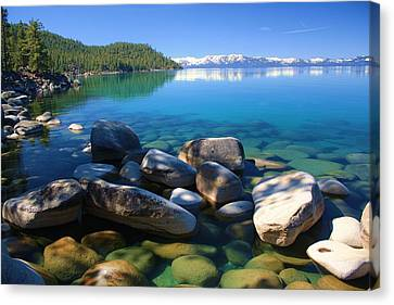 Canvas Print featuring the photograph Serenity by Sean Sarsfield