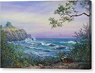 Serenity Seascape  Canvas Print by Gracia  Molloy