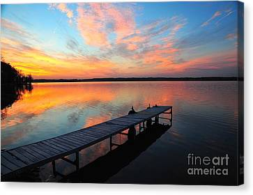 Serenity Canvas Print by Terri Gostola