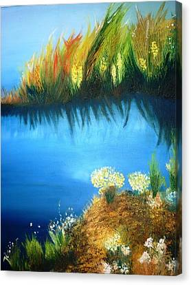 Serenity Canvas Print by Veronica Chauvet