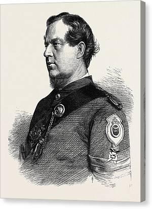 Sergeant Lane 1st Gloucester Rifle Volunteers Winner Canvas Print