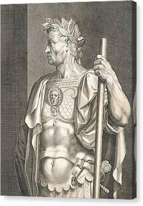 Sergius Galba Emperor Of Rome  Canvas Print