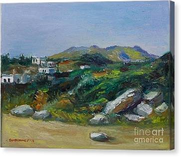 Serifos Island Canvas Print by George Siaba