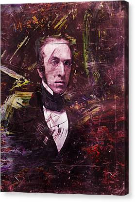 Serious Fellow 1 Canvas Print by James W Johnson