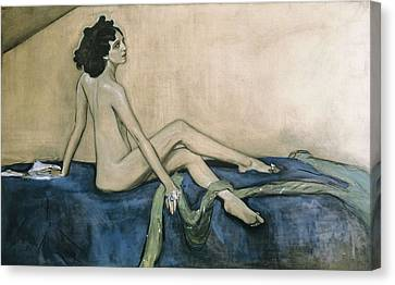 Serov, Valentin Alexandrovich Canvas Print by Everett