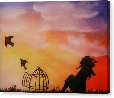 Set Free Canvas Print by Kiara Reynolds