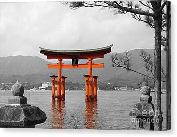 Seto Shrine Canvas Print by Cassandra Buckley