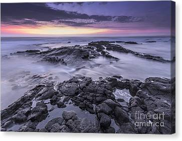 Setting Sun Canvas Print by Marco Crupi