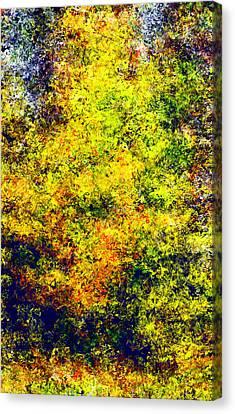 Seurat Canvas Print - Seurat Autumn by Patrick Derickson