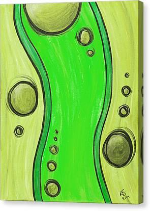 Seuss Green Canvas Print