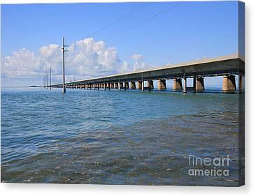 Seven Mile Bridge Marathon Canvas Print