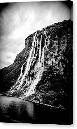 Seven Sisters Waterfall Canvas Print by Bill Howard