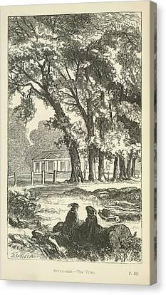 Sevenoaks Canvas Print by British Library