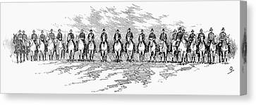 Seventh Cavalry, 1891 Canvas Print by Granger