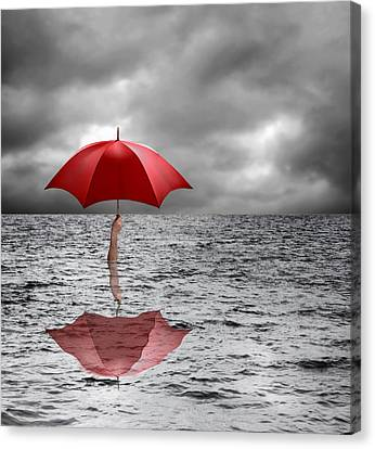 Severe Flooding, Conceptual Image Canvas Print by Science Photo Library