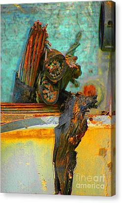 Canvas Print featuring the photograph Severed  by Christiane Hellner-OBrien