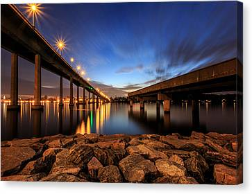 Severn Sky Canvas Print