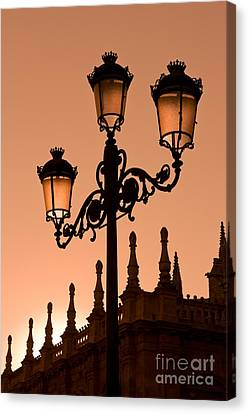 Seville Lantern Canvas Print by Rod McLean
