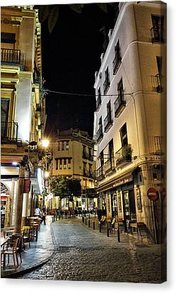 Seville Nights Canvas Print by Pedro Fernandez