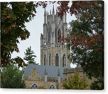 Sewanee Chapel Canvas Print by Ron Hayes