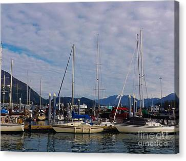Seward Marina Canvas Print by Brigitte Emme