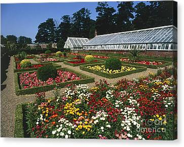 Sewerby Gardens Canvas Print by Michael R Chandler