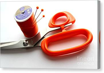 Sewing Essentials Canvas Print