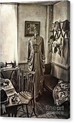 Dressing Room Canvas Print - Sewing Room 2 by Cindi Ressler