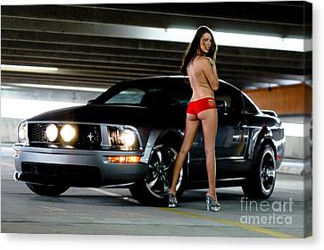 Sexy And Fast Canvas Print by Jt PhotoDesign